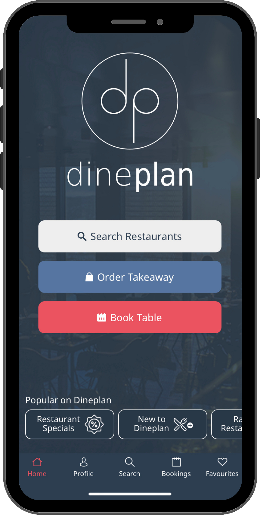 Get the Dineplan App