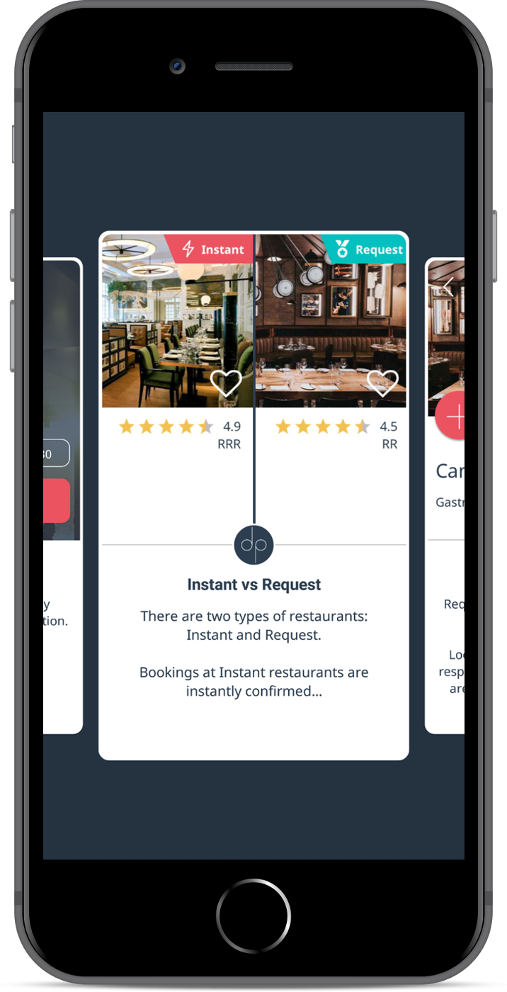 Real-time vs Request Restaurants