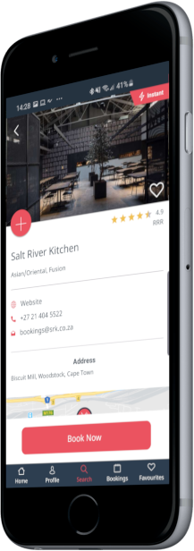 Features of the Dineplan App